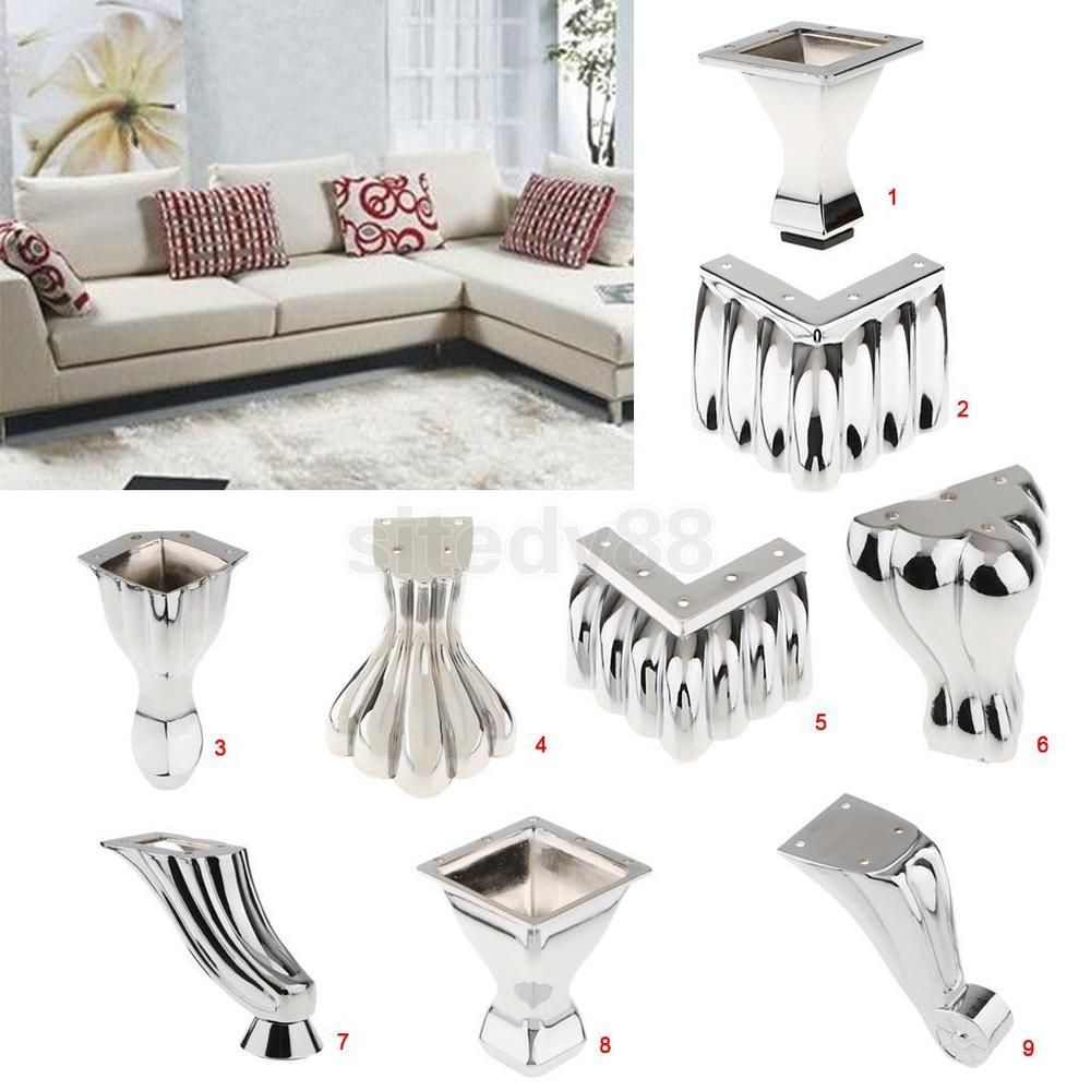 Metal Furniture Replacement Leg Sofa Chair Table Cabinet Couch Legs Feet Furniture Legs Metal Furniture Legs Couch Feet