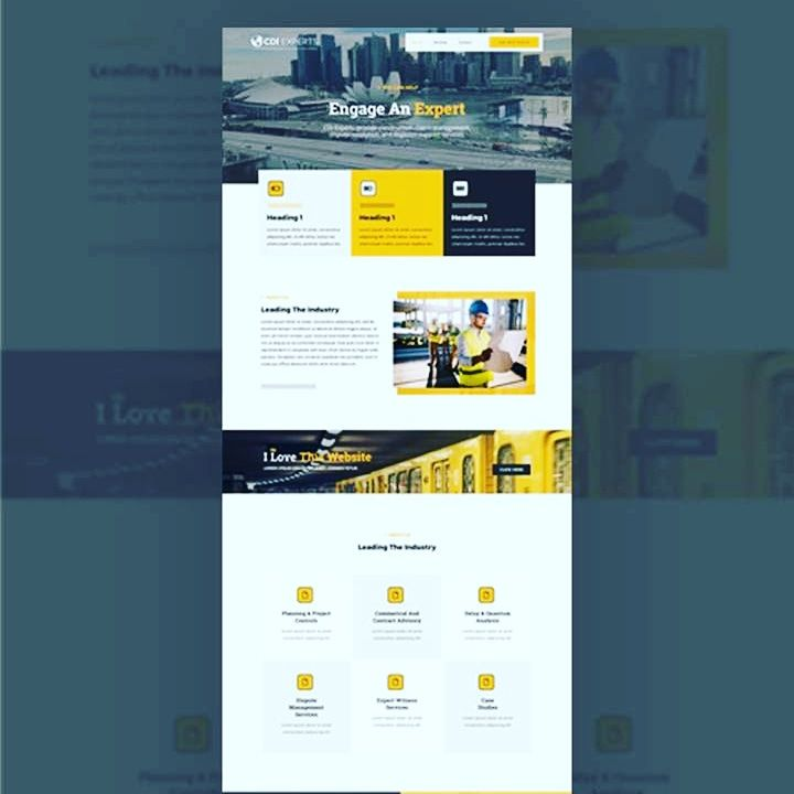 Get A Uniquely Crafted Website For Construction Industry And Many More Contact Us Via Mail Contact S Digital Marketing Services Web Design Digital Marketing