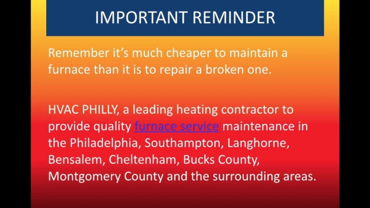 Avoid Heating Repair With Fall Heater Maintenance Hvac Repair