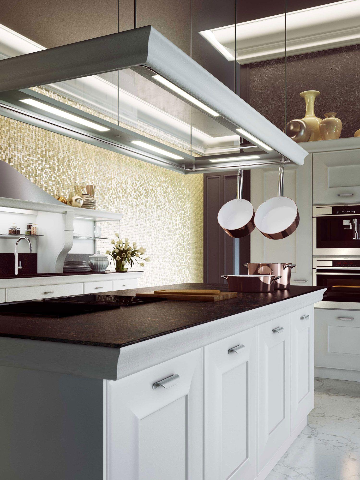Cucine classiche contemporanee: modello Gioconda di Snaidero. L ...