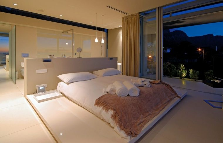dco lgante de chambre coucher avec salle de bain