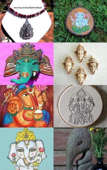 Lord Ganesha by Angela Millar on Etsy--Pinned with TreasuryPin.com
