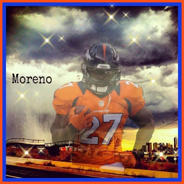 Moreno Denver broncos, Broncos, Bronco