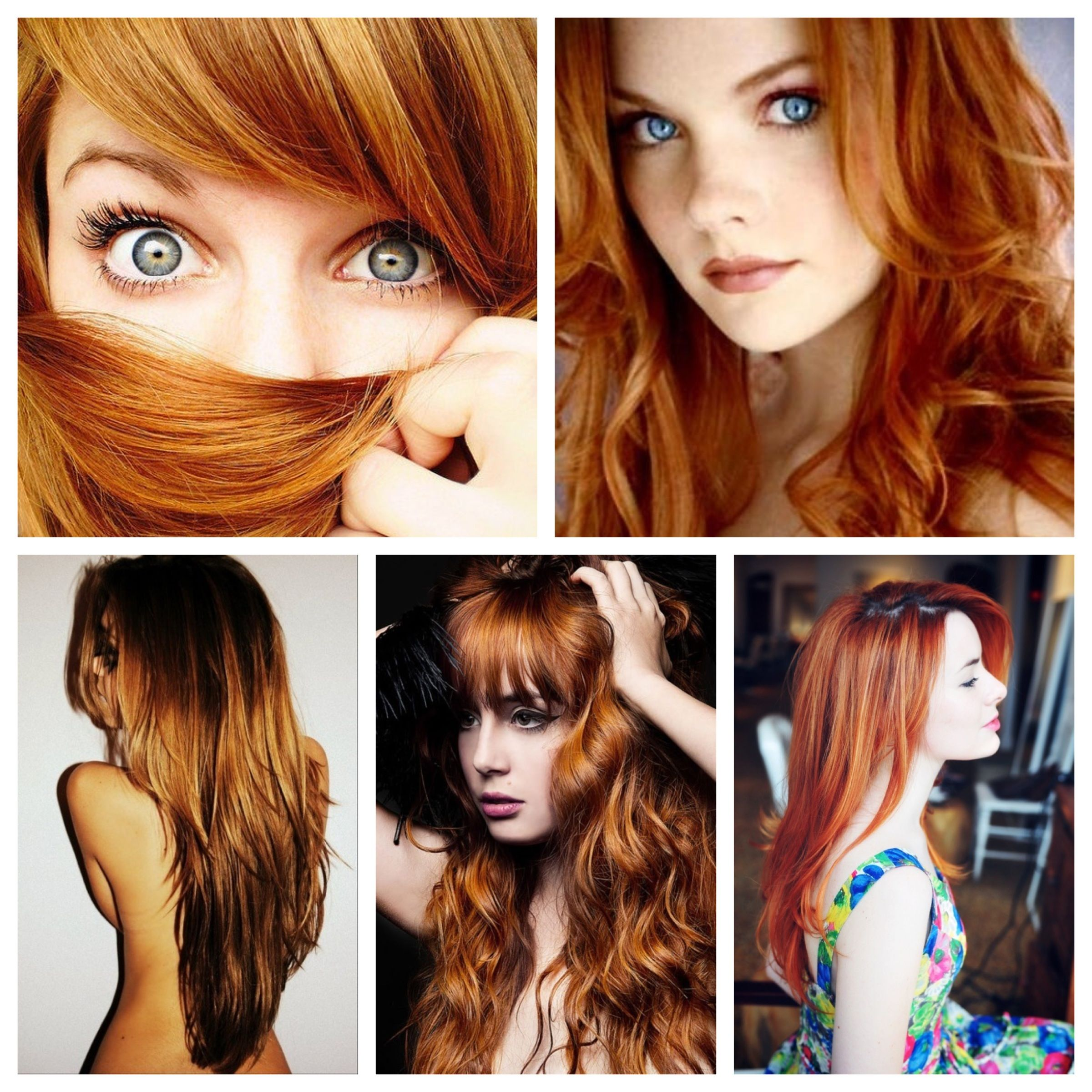 On Trend: summers best hair colours | More Auburn red hair ideas