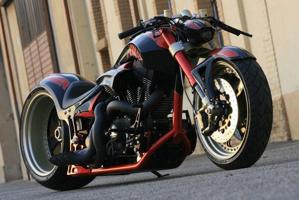 Fat Attack AG Harley Davidson 'The One' created by Swiss customer bike maker.   repinned by www.BlickeDeeler.de