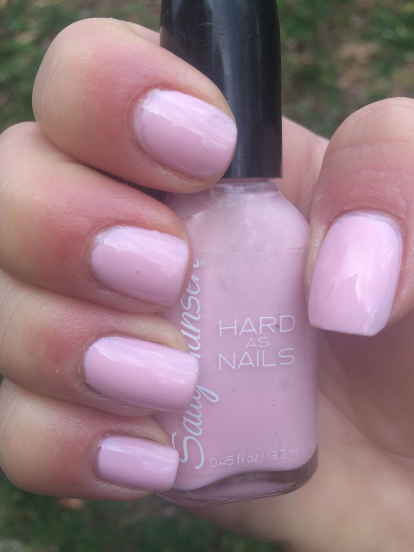 67. Sally Hansen Hard As Nails: Hard-core Party #NailSwatch #Nails ...