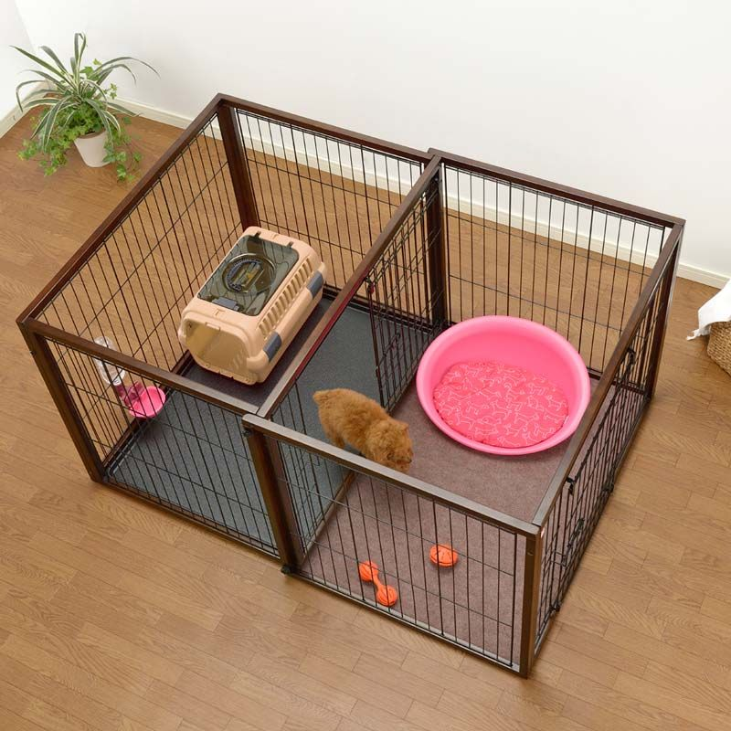 richell fliptoplay dog crate and exercise pen in one