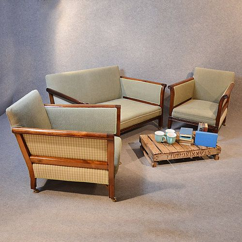 Best Lounge Suite Edwardian Three Piece Sofa Chairs Lounge 400 x 300