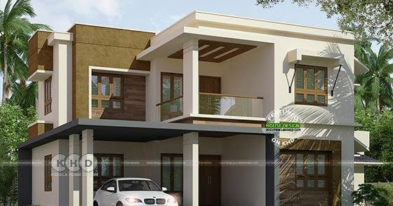 2311 Square Feet 49 Lakhs Construction Cost Estimated 4 Bedroom House Plan By Rit
