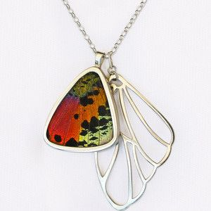 Urania Ryphaeus Cluster Pendant now featured on Fab. Papillon Belle (I love every variation of this necklace.)