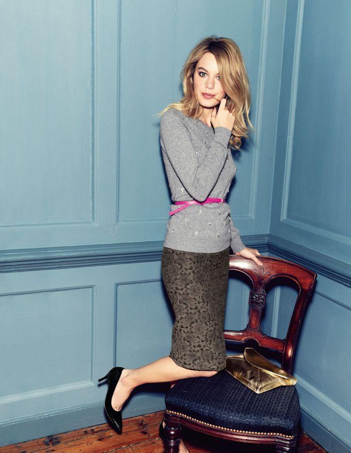 47c7b8361 Boden Italian Lace Jacquard Skirt on shopstyle.com | AW 2013/2014 ...