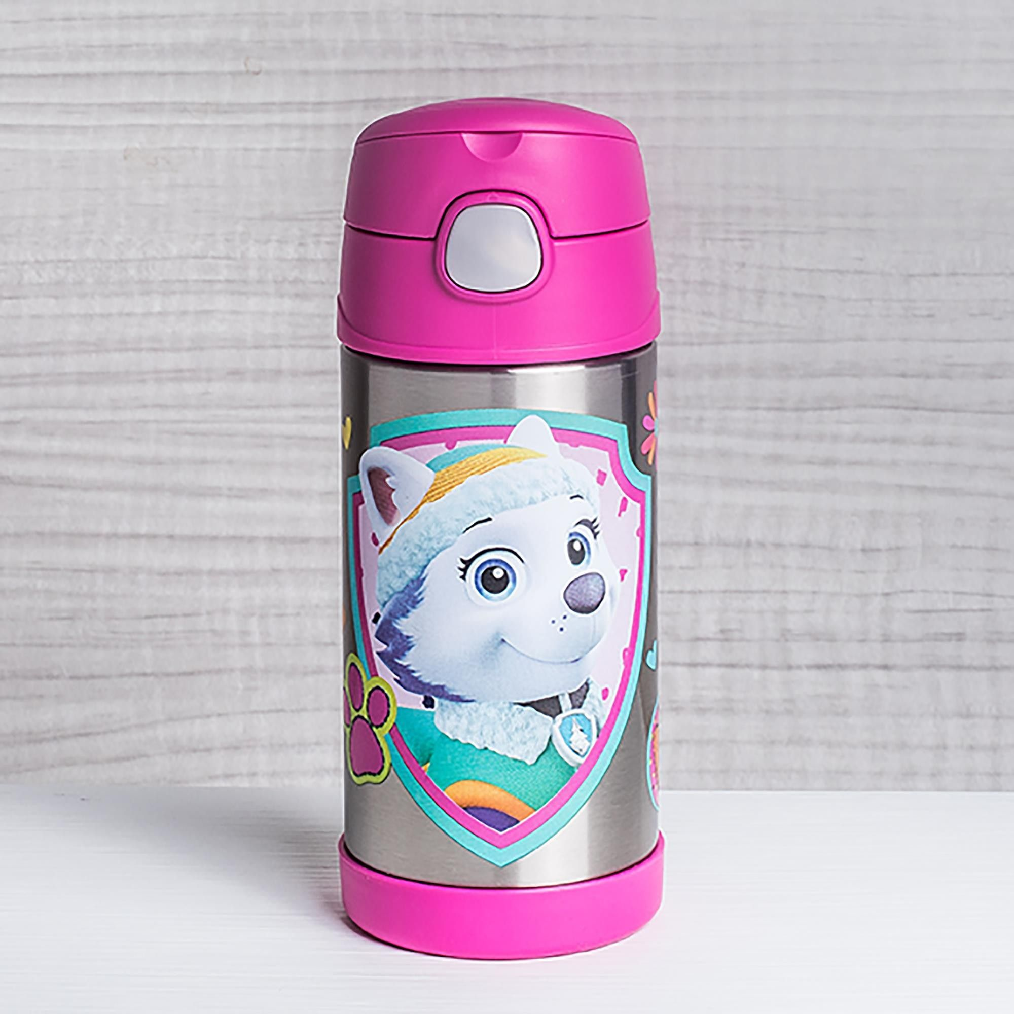 NEW THERMOS HANNAH MONTANA FUNTAINER STAINLESS STEEL BOTTLE KEEPS COLD 12 HOURS