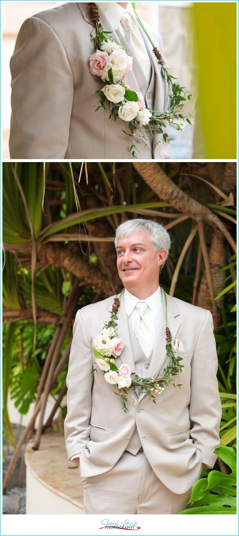 Vintage Hawaiian Wedding Mr And Mrs Fresh Look Photography Honolulu Married In Hawaii Downtown Abby Themed Ku U Lei Groom