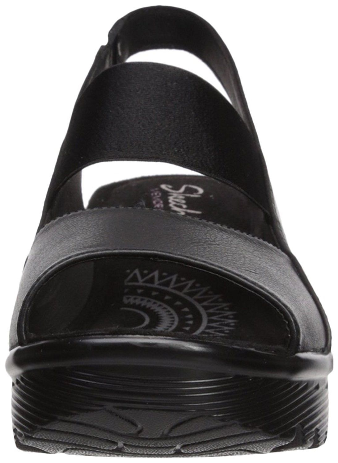 4a1fb68ced8c Skechers Women s Parallel-Strut Wedge Sandal -- Check this awesome product  by going to