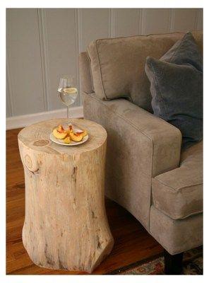 TAVOLINO TRONCO DI LEGNO SLIM WOODESIGN ORIGINAL | legno | Pinterest ...