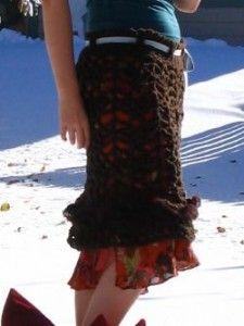 Easy Crochet Skirt Pattern
