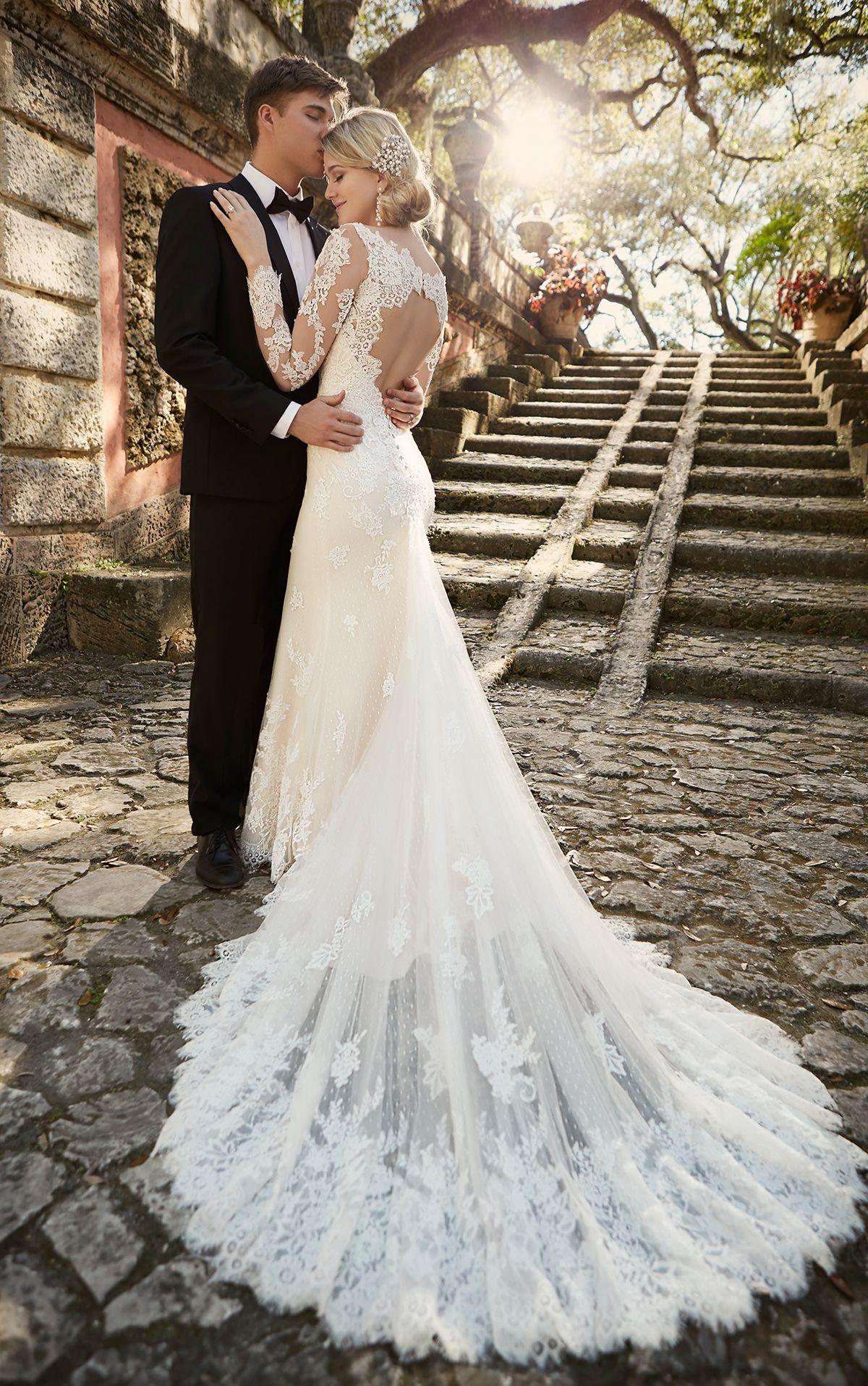 Back of wedding dress  Keyhole Back Wedding Dress by  Bridal gowns Wedding dress and Wedding