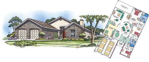 Efficient Layout House Plans Part 84