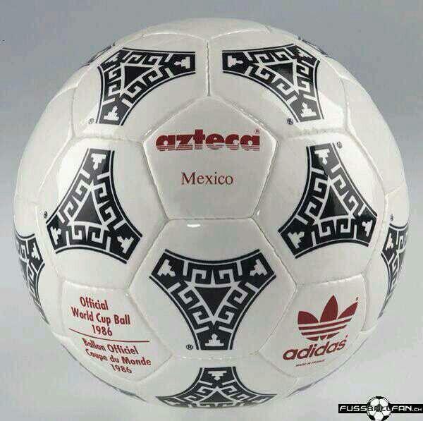 1b58da67a Azteca balon oficial del mundial Mexico 86