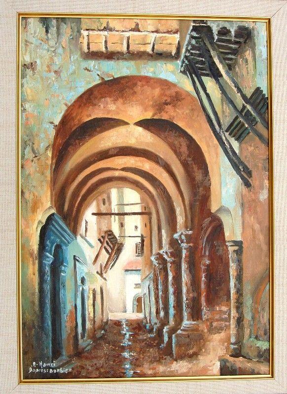 algeria peinture casbah d 39 alger d 39 apres barbier lanejiri pinterest arabian nights. Black Bedroom Furniture Sets. Home Design Ideas