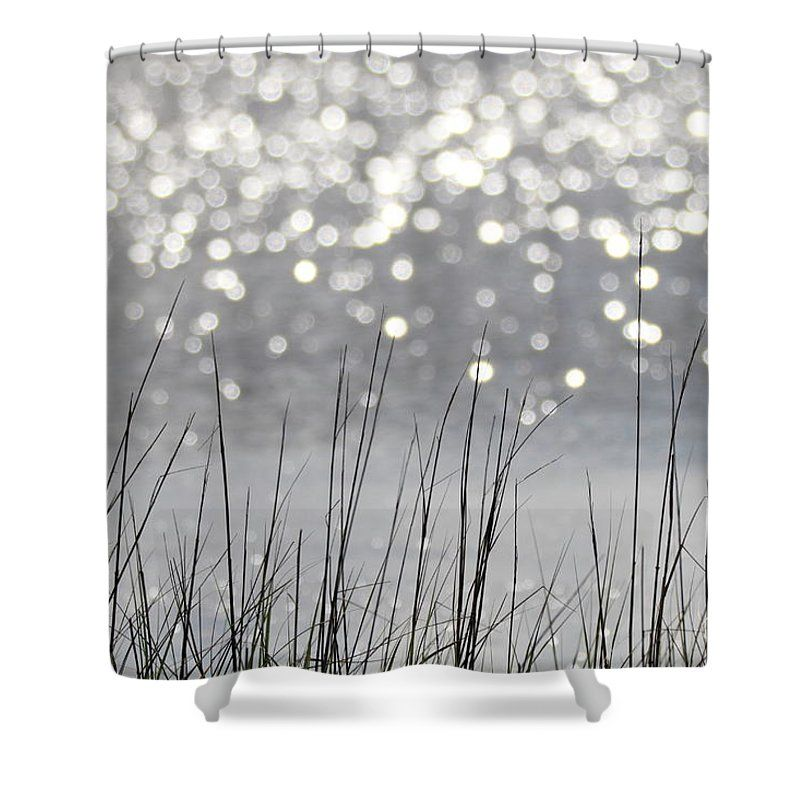 Galveston Bolivar Peninsula Horseshoe Marsh Texas Shower Curtain