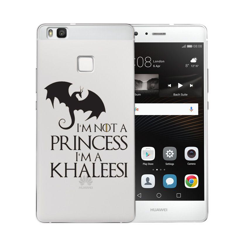 Game of throne im not a princess im a khaleesi soft tpu