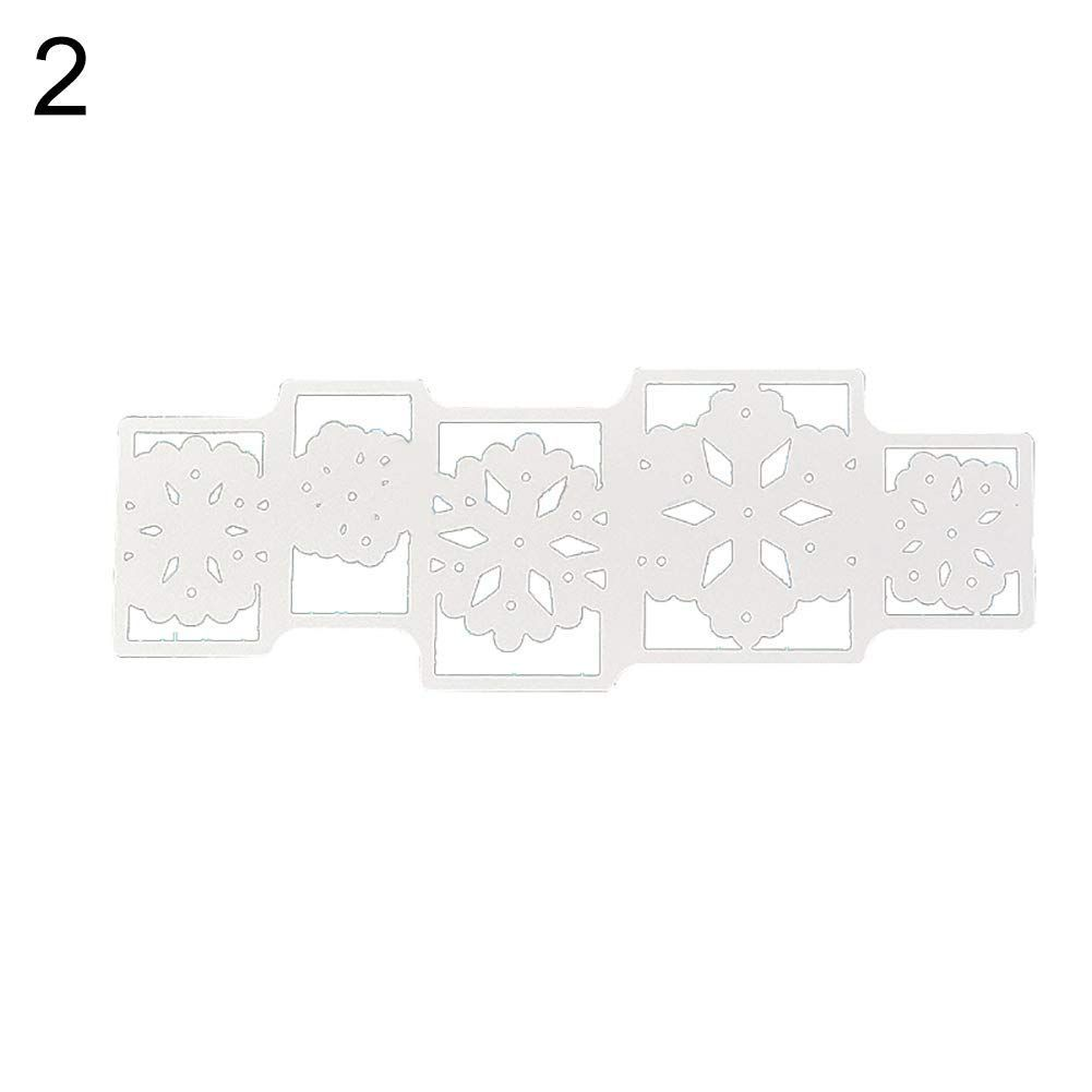 StaunchWea Big Flower Metal Cutting Die Embossing DIY Scrapbook Album Paper Crafts Stencil