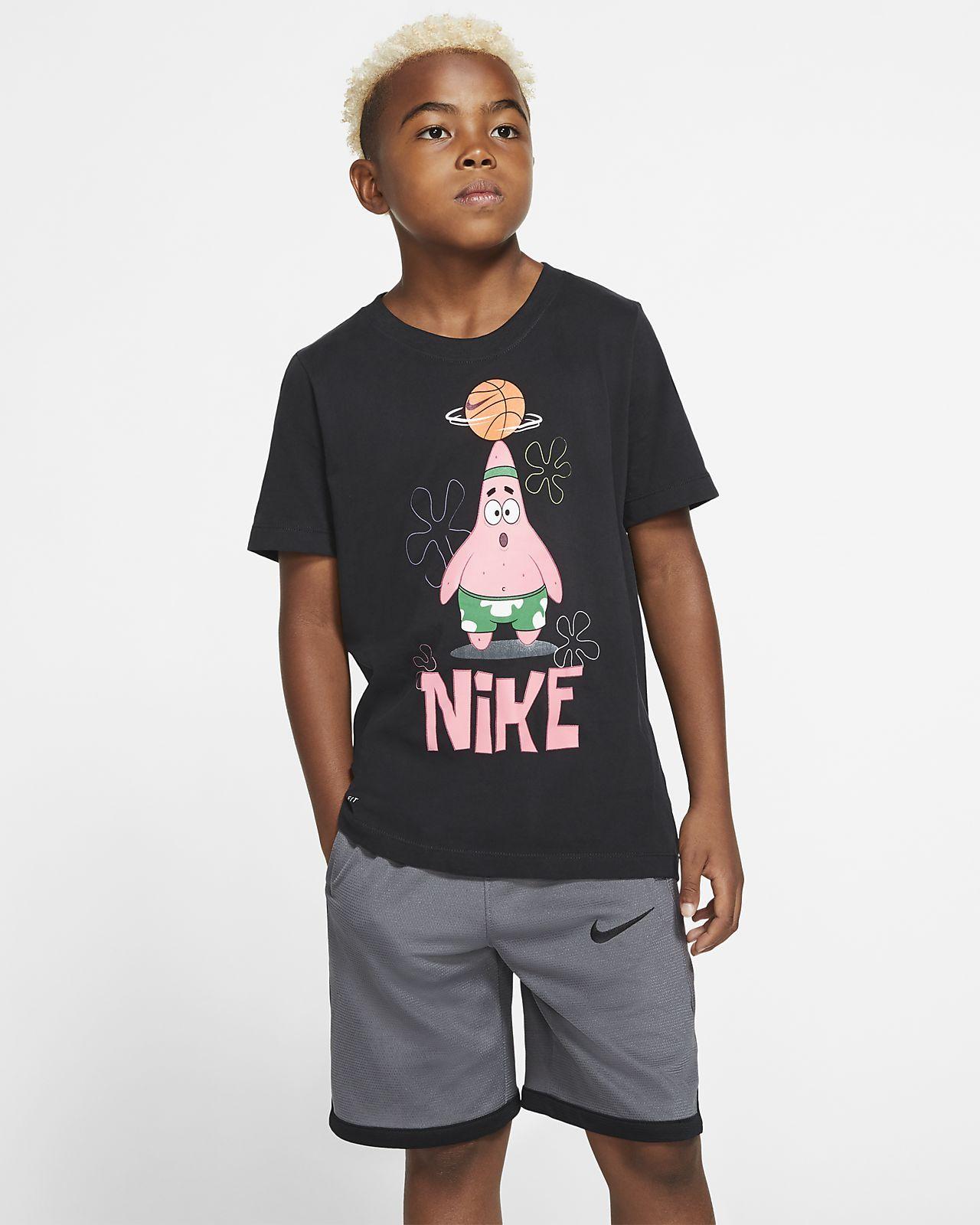 Nike drifit kyrie spongebob big kids boys basketball