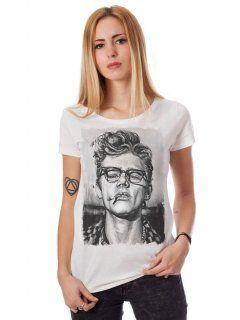 James Dean -Round Neck Cotton T-Shirt -tharakan