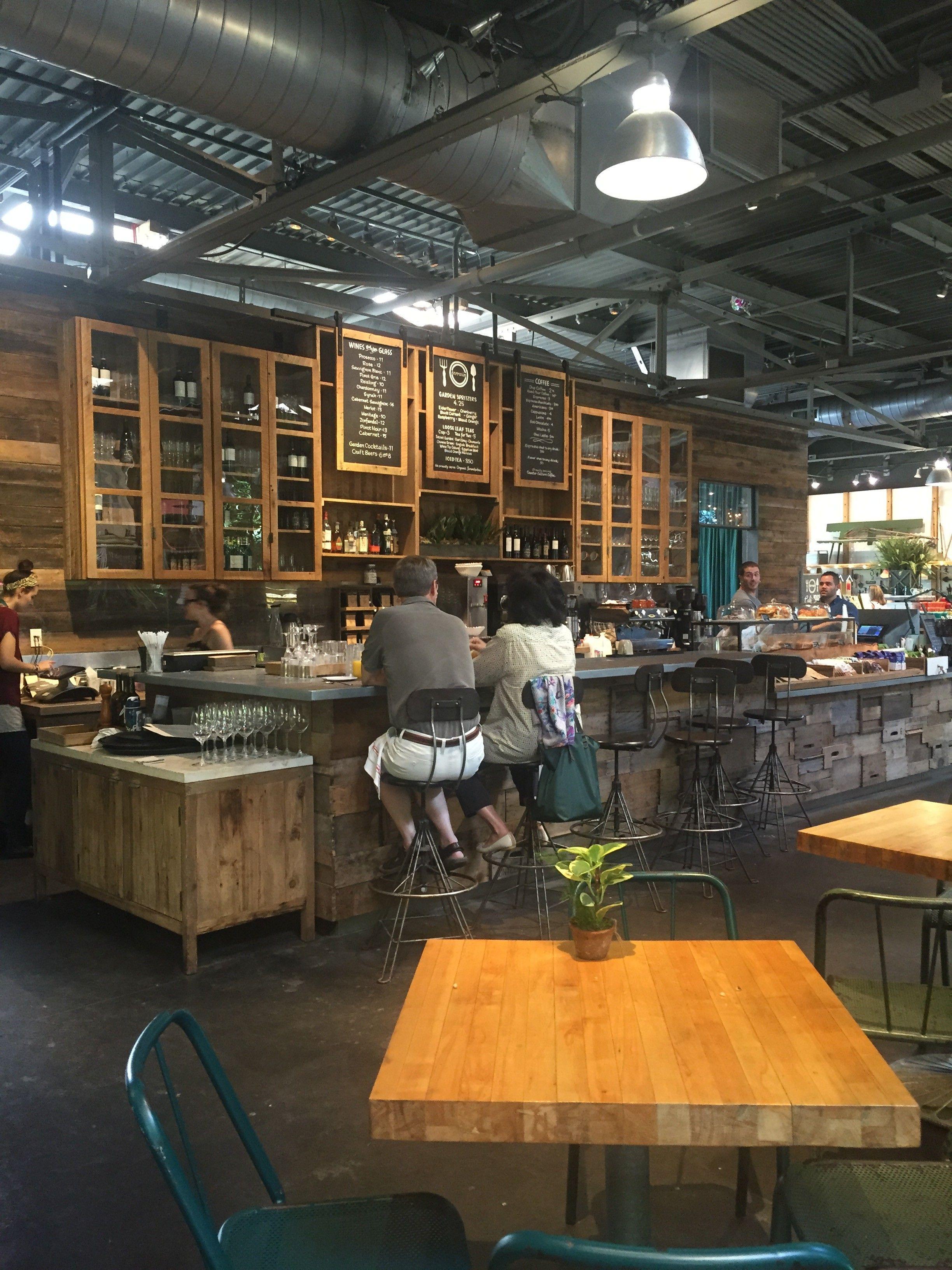 Store Experience Garden Cafe Terrain at Westport, CT