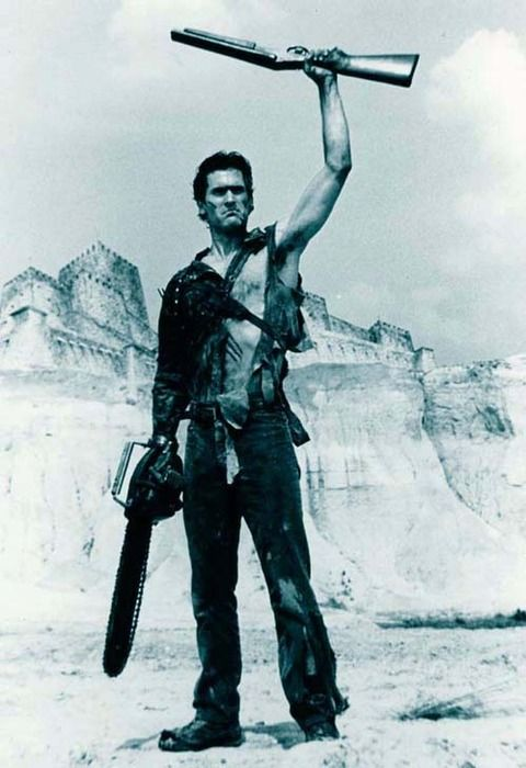 -because there is only one Bruce Campbell