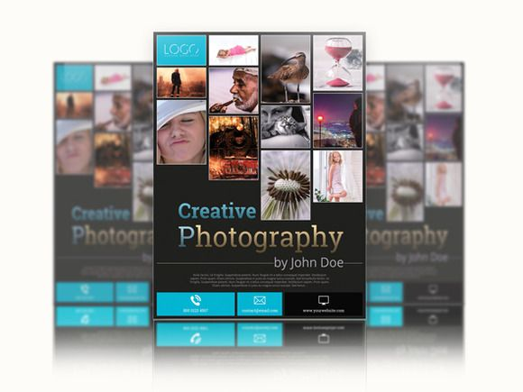 Photography Studio Flyer Templates | Flyer Template, Photography