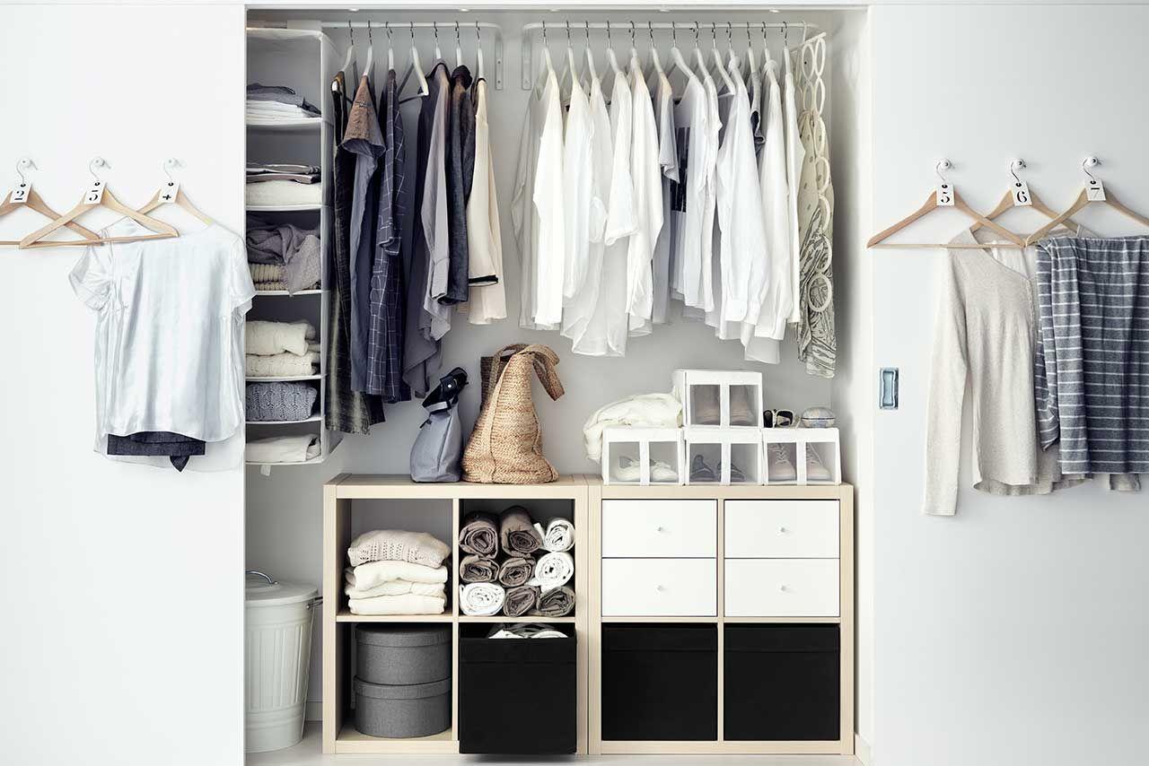 Wardrobe GoalsFeatured Products KALLAX KOMPLEMENT DRONA Source Everyday Ikea