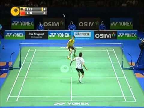 1 4 2011 All England Open Badminton Tournament Men S Single Final Badminton Tournament Badminton Badminton Videos