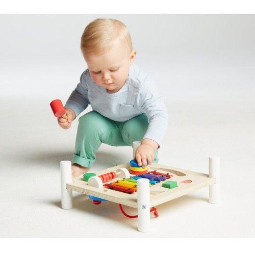 table d 39 activit s 2 faces manibul cr ation oxybul pour enfant de 1 an et demi 4 ans oxybul. Black Bedroom Furniture Sets. Home Design Ideas