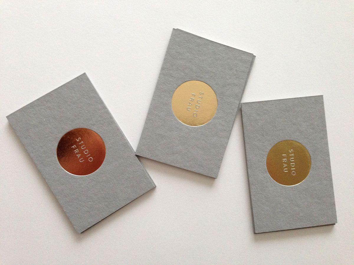 New business cards for studio frau interior design quotes new business cards for studio frau reheart Choice Image