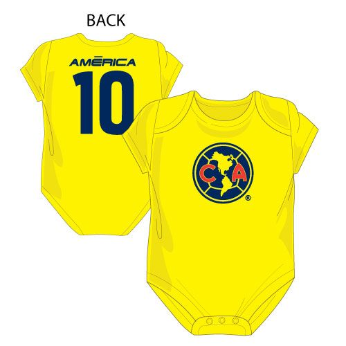 new baby newborn Club America jersey Home