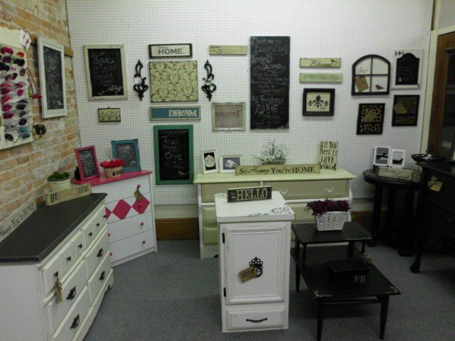 Revived Designs: A Cute Furniture Store In Bay City, MI. They Take Old