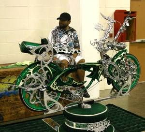 pimped out bycycle images   Remarkable Cars
