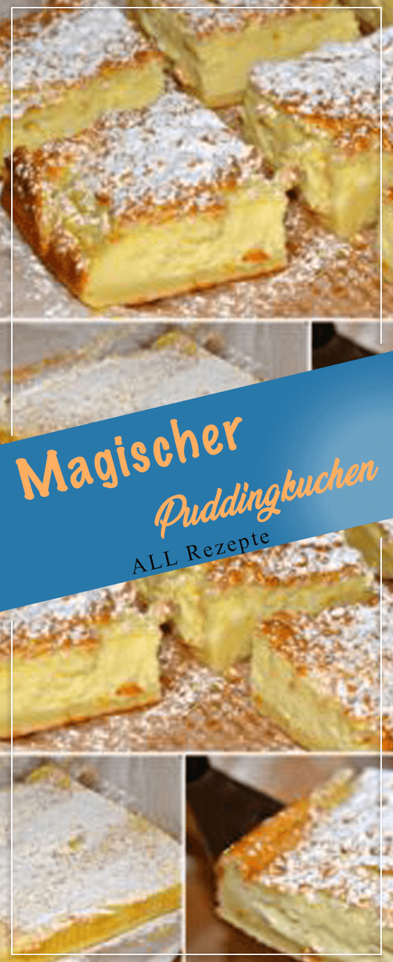 Photo of Magischer Puddingkuchen – All Rezepte