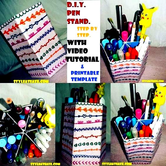 Finally the tutorial is here. 🌺Link on my bio🌺 . . . . . . . . . . . . . . . . . . . . . . . . . . . . #art #artistsoninstagram #artist #doodle #doodlesketch #doodles #doodlesofinstagram #doodleart #doodler #doodletales #sketch #sketching #sketchers #sketches #sketchy #diy #diycrafts #diyhomedecor #diycraft #diyideas #paper #papercrafts #paperart #paperfolding #colorful #color #tutorial #instapic #penstand #penstands