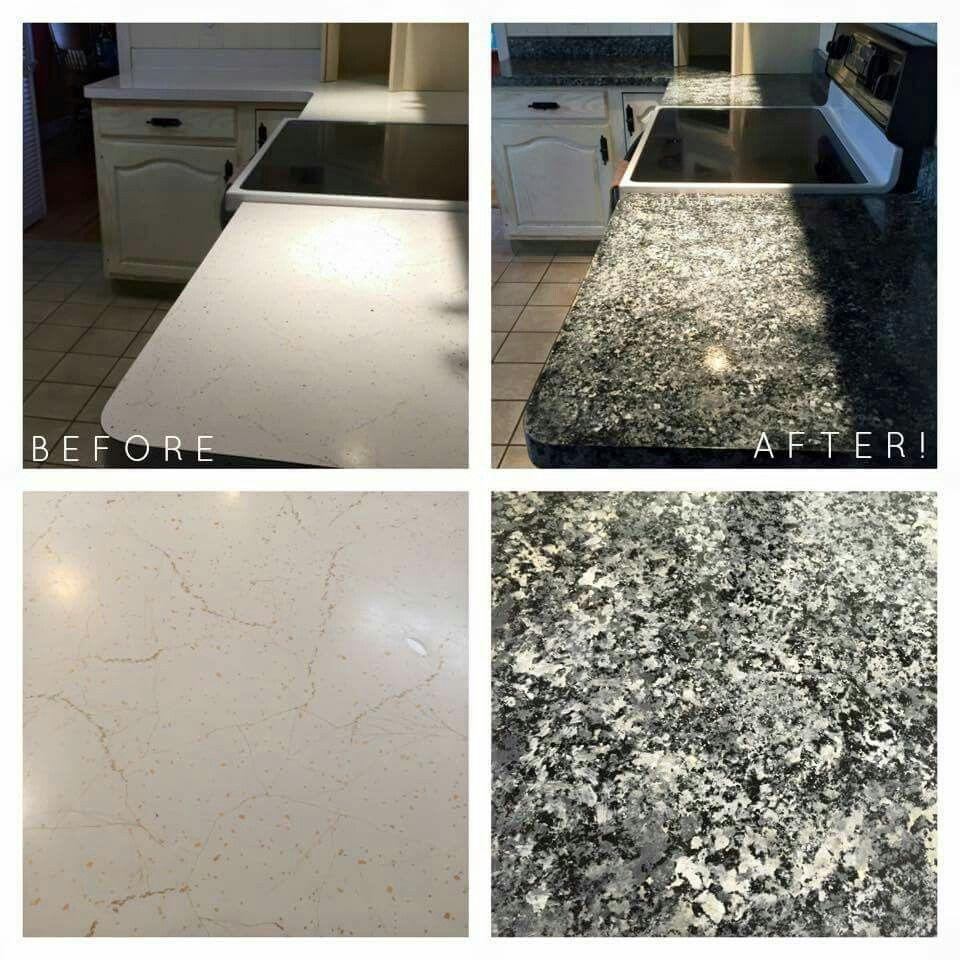 Giani Granite Slate Kit Painting Countertops Diy Countertops Giani Granite