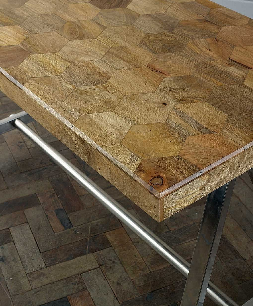 Artisan Honeycomb Desk From Lombok