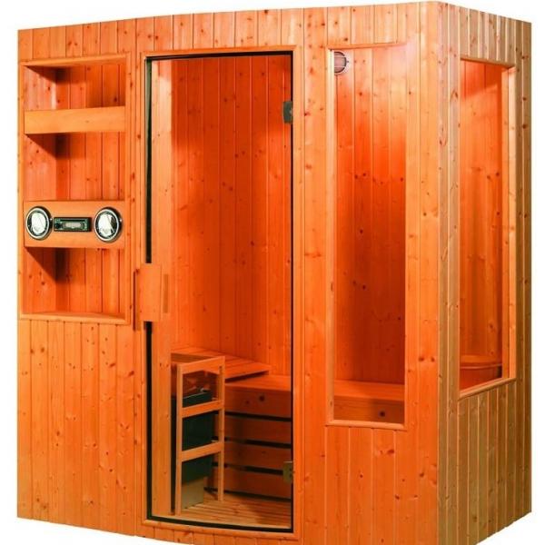 Saune finlandesi tradizionali per casa, hotel, centri benessere, con ...