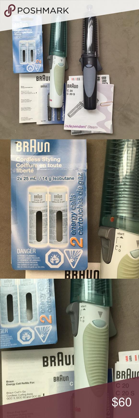 Braun Curler Straightener Dryer Curlers My New Haircut Energy C