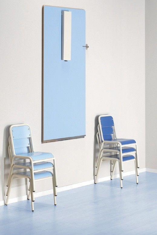 Mesa plegable en la pared escritorios minimos - Mesas pequenas plegables ...
