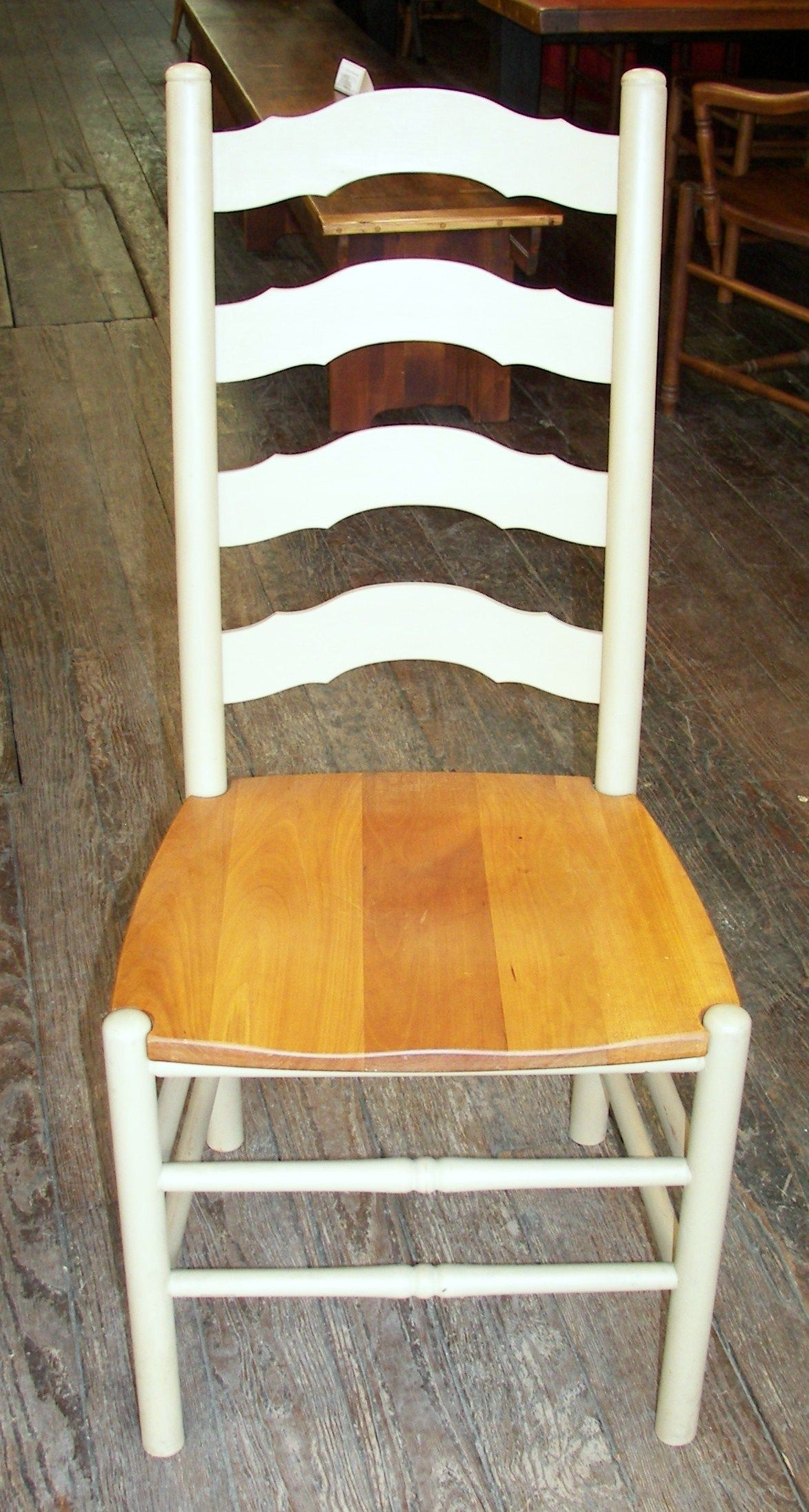 Reclaimed Barn Wood Furniture   Cherry French Country Ladder Back Chair    Www.braunfarmtables.
