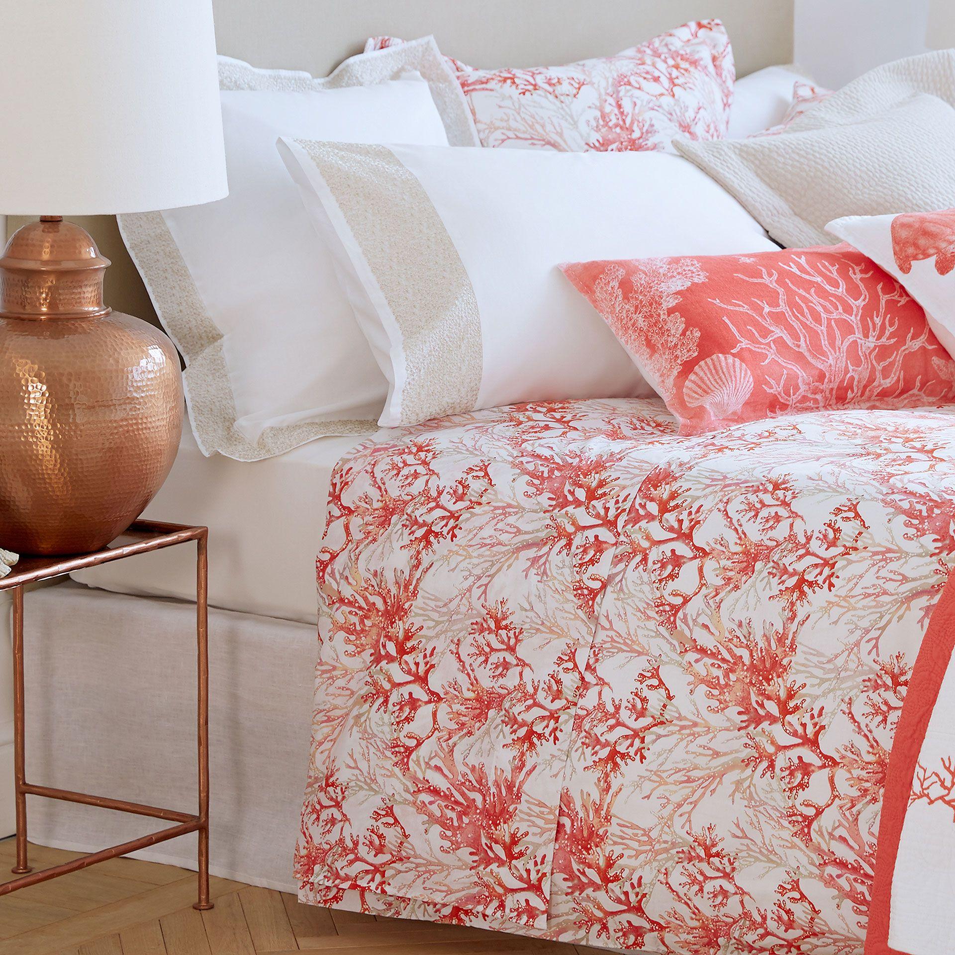 61ea4bb5ab4 Coral Print Bed Linen - Bed Linen - BEDROOM   Zara Home United Kingdom