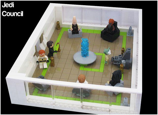 LEGO Jedi Council #LEGO #StarWars #Jedi