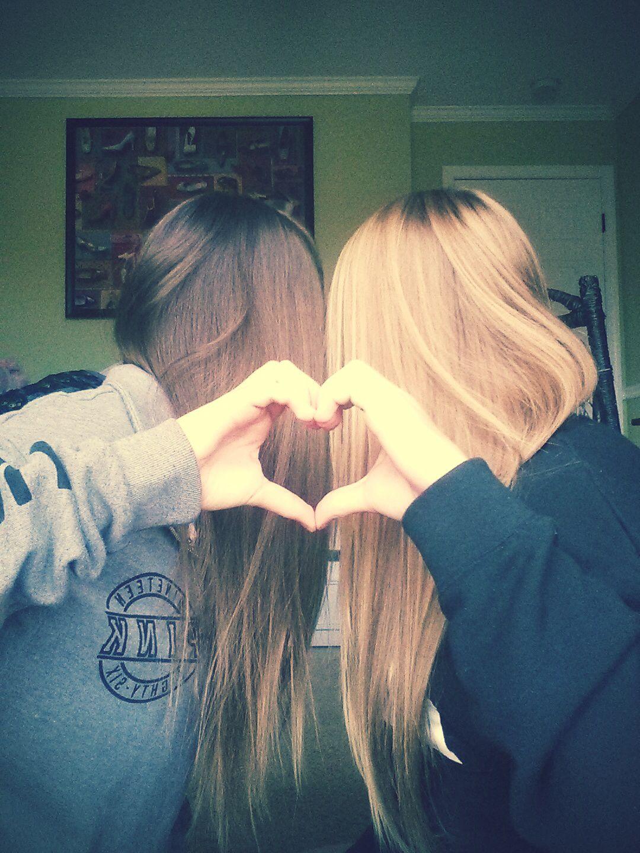 Mackenzie and Macie SweetHearts! #sisters #love
